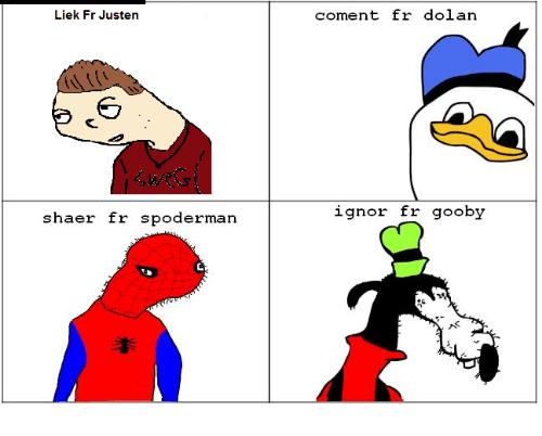 Spoderman Meme Funny Image Photo Joke 07