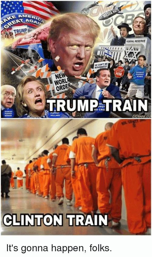 Trump Train Meme Funny Image Photo Joke 10