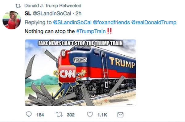 Trump Train Meme Funny Image Photo Joke 12