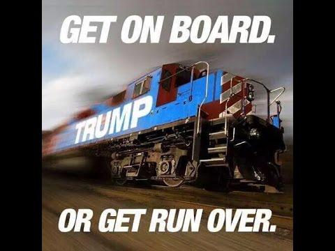 Trump Train Meme Funny Image Photo Joke 15