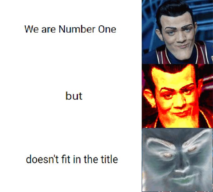 We Are Number One Meme Funny Image Photo Joke 03
