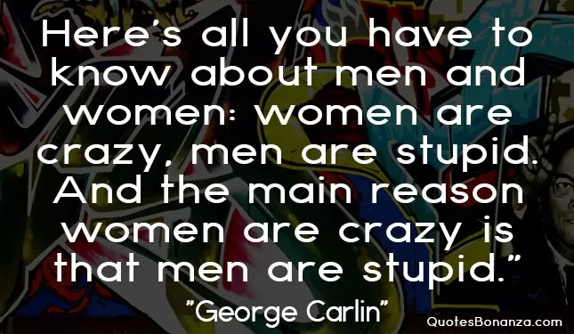 quote about men and women