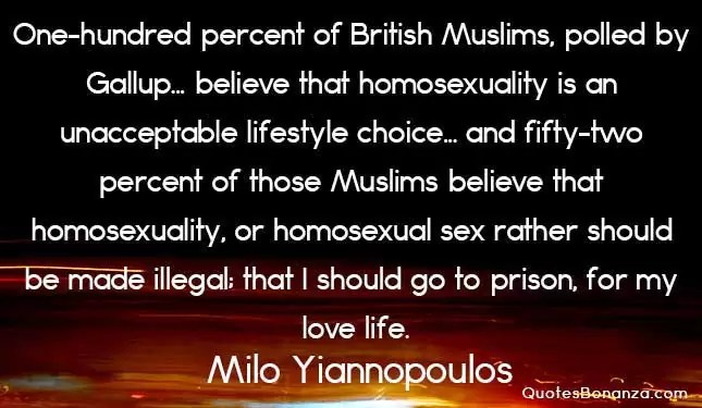 milo yiannopoulos quote about british muslims