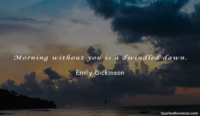 dwindled dawn quote