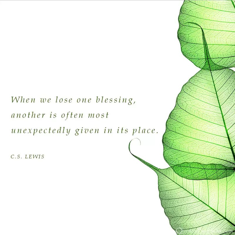 loss quote cs lewis