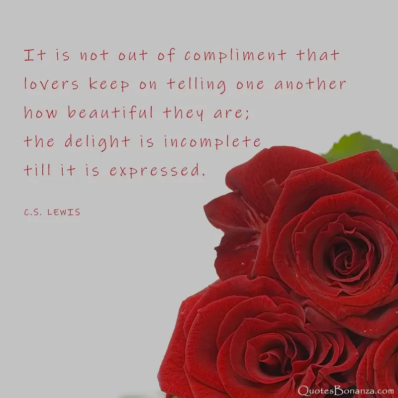 cs lewis about love