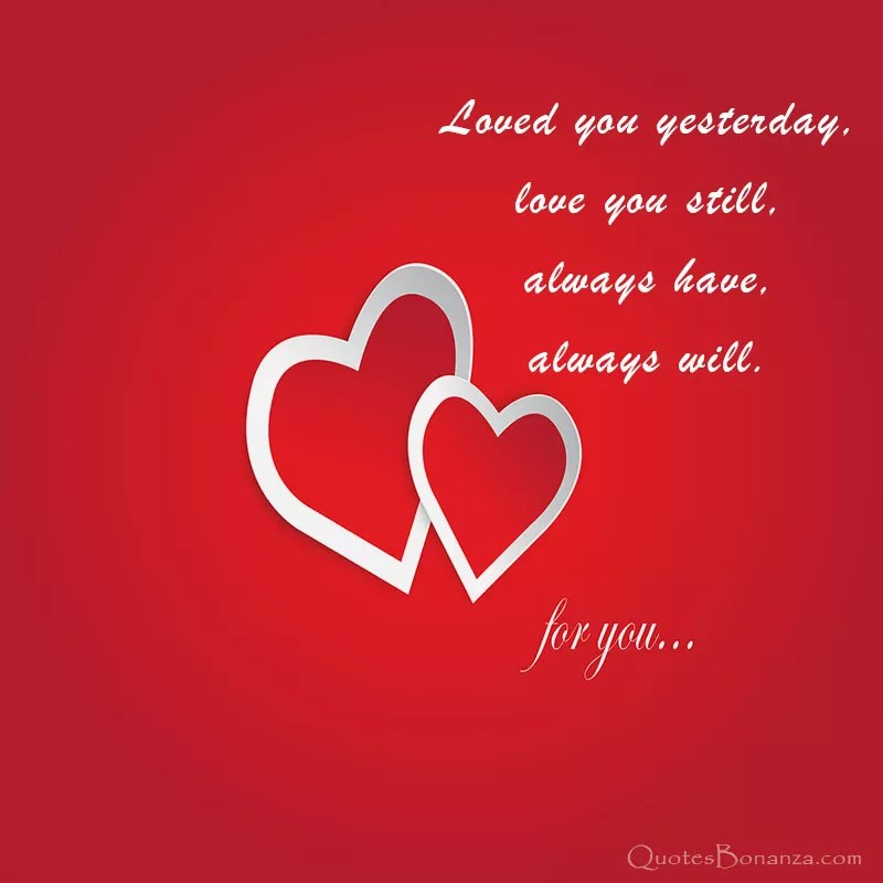 love you forever message