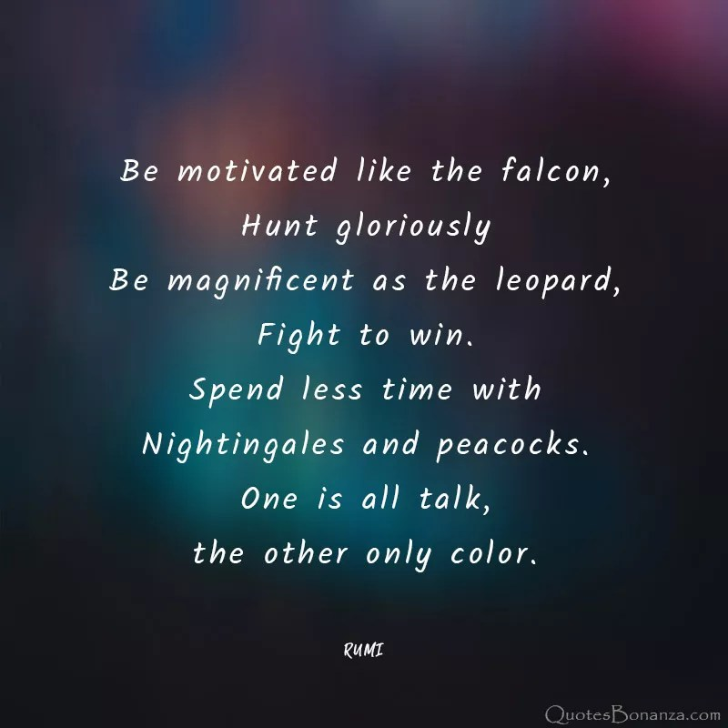 be-motivated-rumi-quote