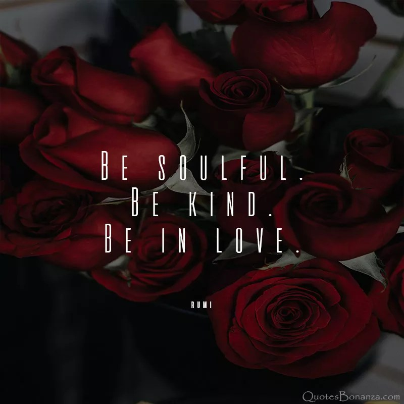 be-soulful-be-kind-be-in-love-rumi-quote
