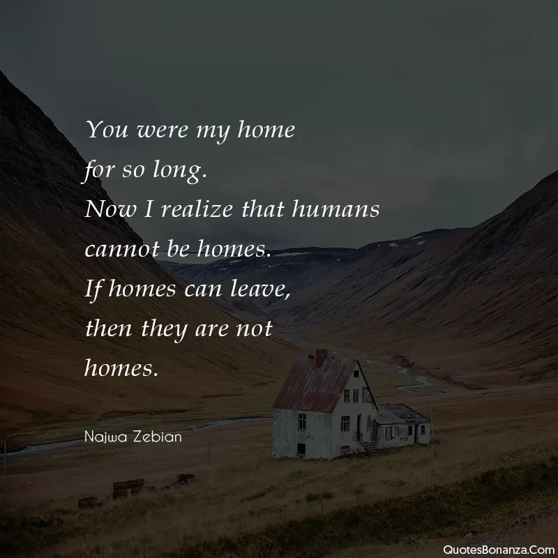 najwa zebian quote about home
