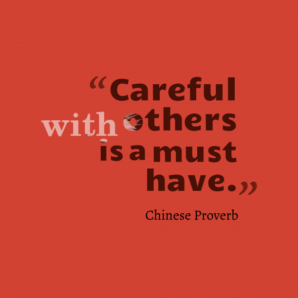 Image of: Sayings Chinese Wisdom About Careful Simple Home Decor Ideas Online Quote Poster Maker
