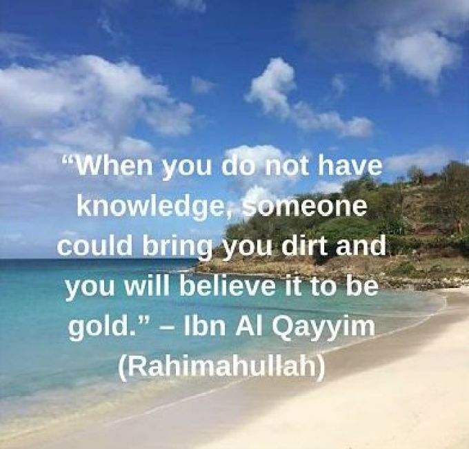 ibn qayyim quotes on knowledge with image