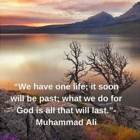 muhammad ali quotes on life