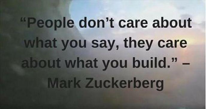 mark zuckerberg quotes on success