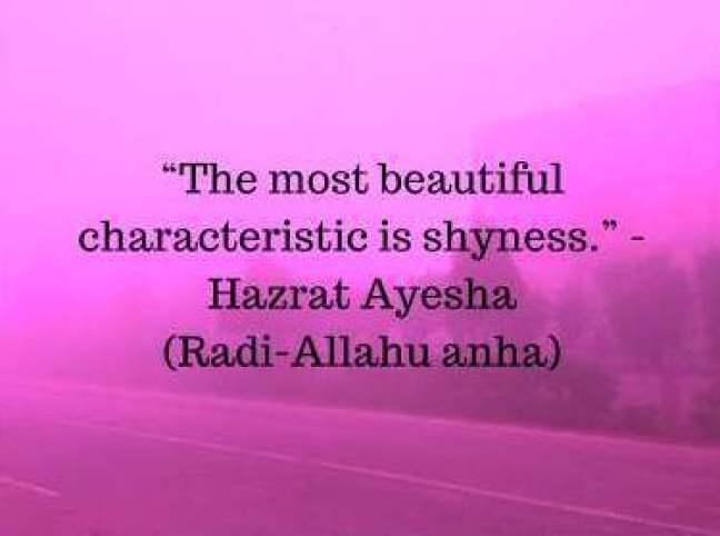 hazrat ayesha quotes in english