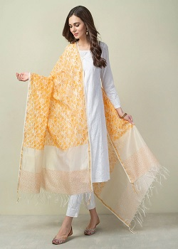 Fashion Buyer Tips:Carry These Dupattas In These 5 Ways, Will Look Stylish_Image Source Google