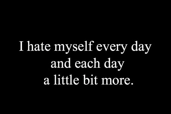 Hate Myself Quotes Get Out Of This Unhappy Feeling Of Being Unhappy-1_Image Source Google