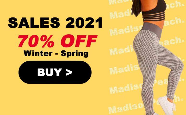 Madison peach leggings review