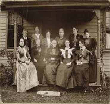 Susan B Anthony With Family Image & Boography