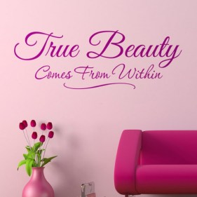 True Beauty Comes From Within ~ Beauty Quote