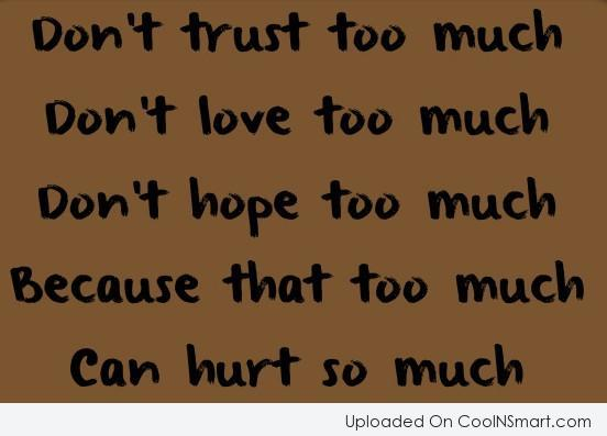 Loving Someone Too Much Quotes