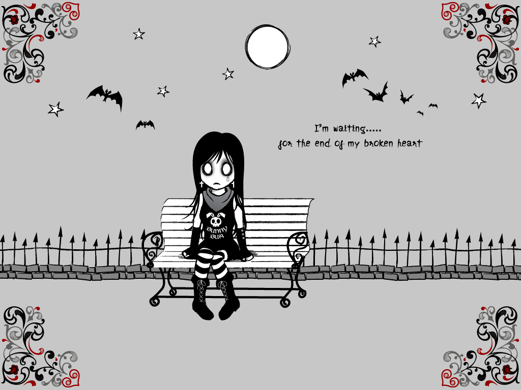 Goth Broken Heart Quotes Quotesgram