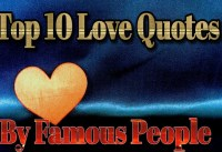 Love Quotes Top  Love Quotes By Famous People