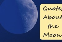Quotes About The Moon