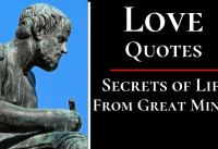 LOVE QUOTES From Philosophers Poets and Authors