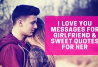 Sweet Love Quotes For Her I Love You Messages