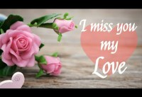 I miss you my love quotes I love you