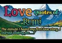 Rumi Quotes Rumi Love Quotes Best  Rumi Quotes on