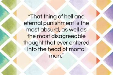 "George Berkeley quote: ""That thing of hell and eternal punishment…""- at QuotesQuotesQuotes.com"