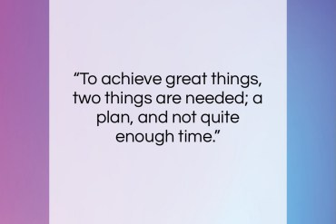 "Leonard Bernstein quote: ""To achieve great things, two things are…""- at QuotesQuotesQuotes.com"