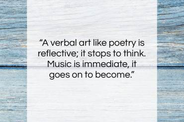 "W. H. Auden quote: ""A verbal art like poetry is reflective;…""- at QuotesQuotesQuotes.com"