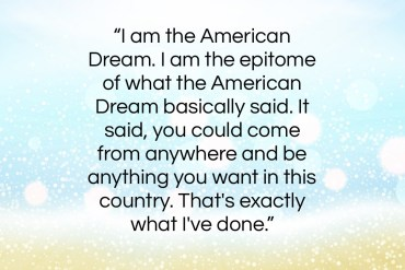 "Whoopi Goldberg quote: ""I am the American Dream. I am…""- at QuotesQuotesQuotes.com"