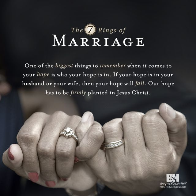 Quotes About Love The 7 Ring Of Marriage When You