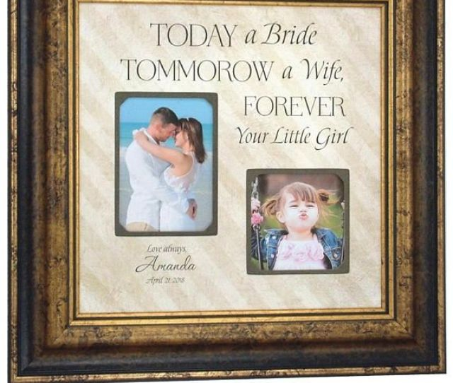 As The Quote Says Description Photo Frame Personalized Wedding Gift For Parents Of Bride Groom