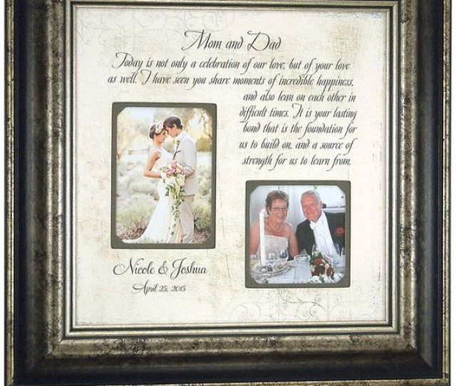 As The Quote Says Description Mother Of The Groom Gift Parents Of The Bride
