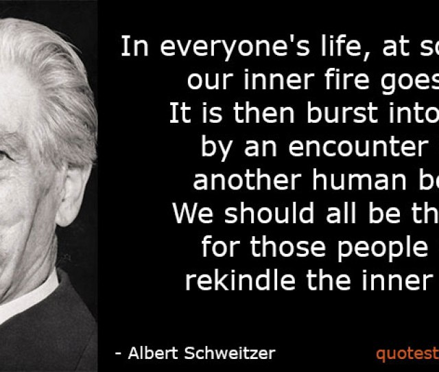Albert Schweitzer Archives Thank You Quotes
