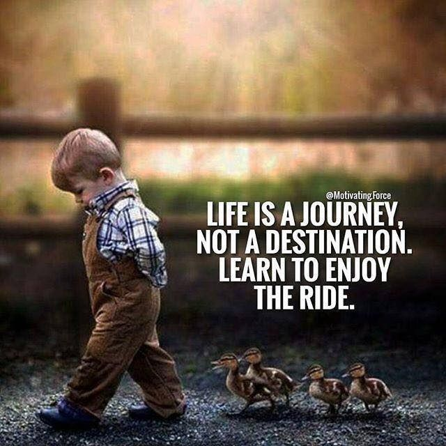 Inspirational Quotes About Life S Journey: Inspirational Positive Quotes :Life Is A Journey Not A