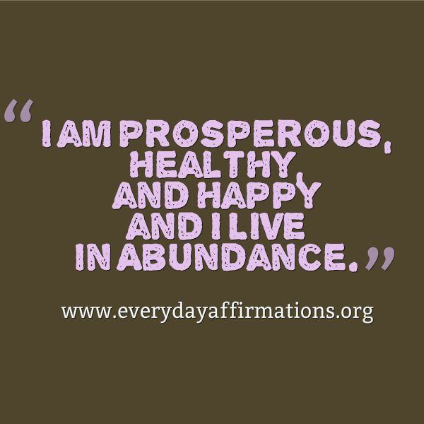 Everyday Affirmations For Daily Positivity Daily Affirmations 8
