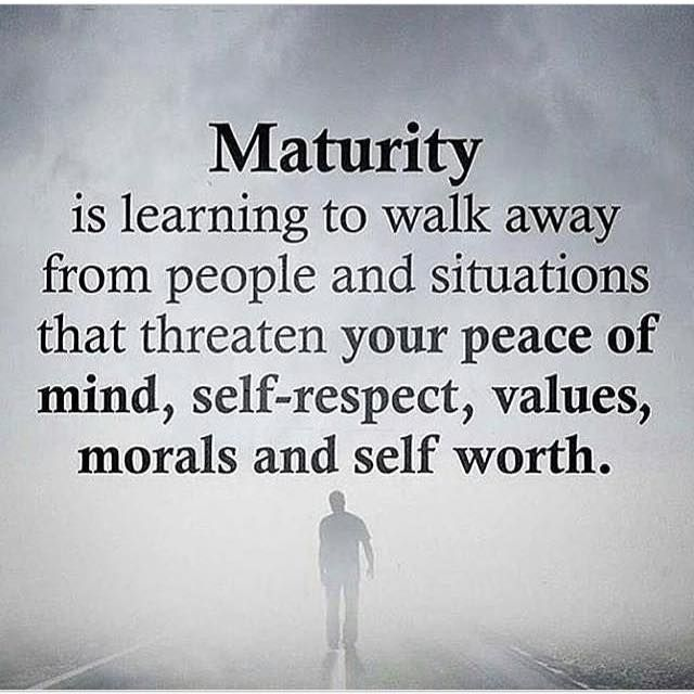 Inspirational Positive Quotes :Maturity is learning to walk ...