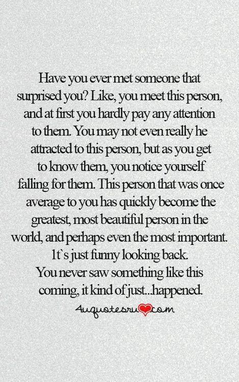 Beautiful Description. 10 Unexpected Love Quotes | Best ...