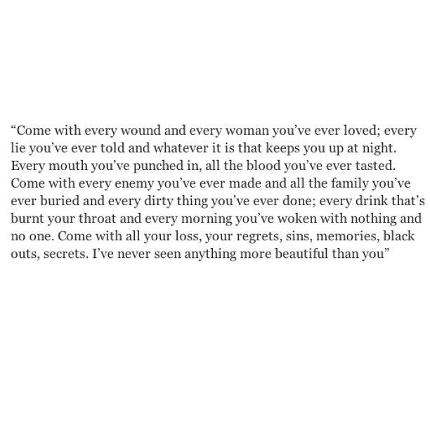 Sad And Depressing Quotes :I\'ve never seen anything more ...