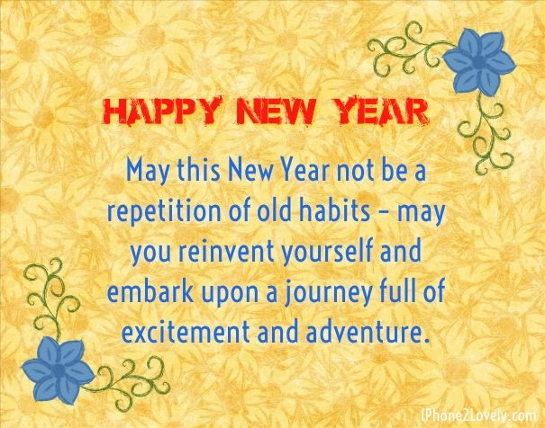 description best new year messages