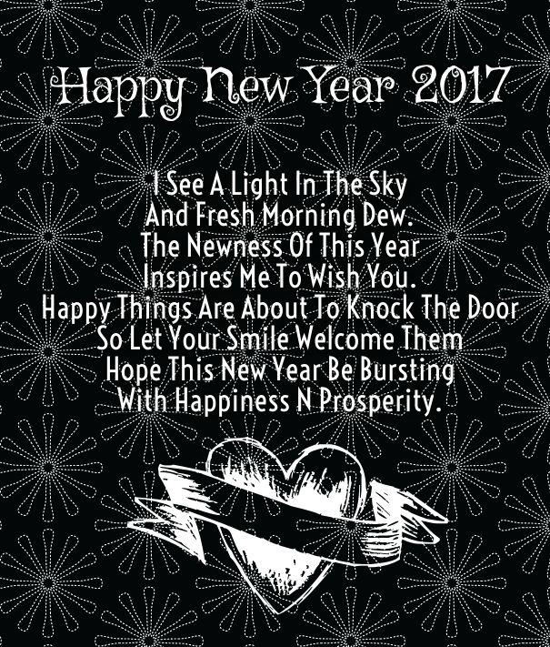 happy new year quotes happy new year quotes for him