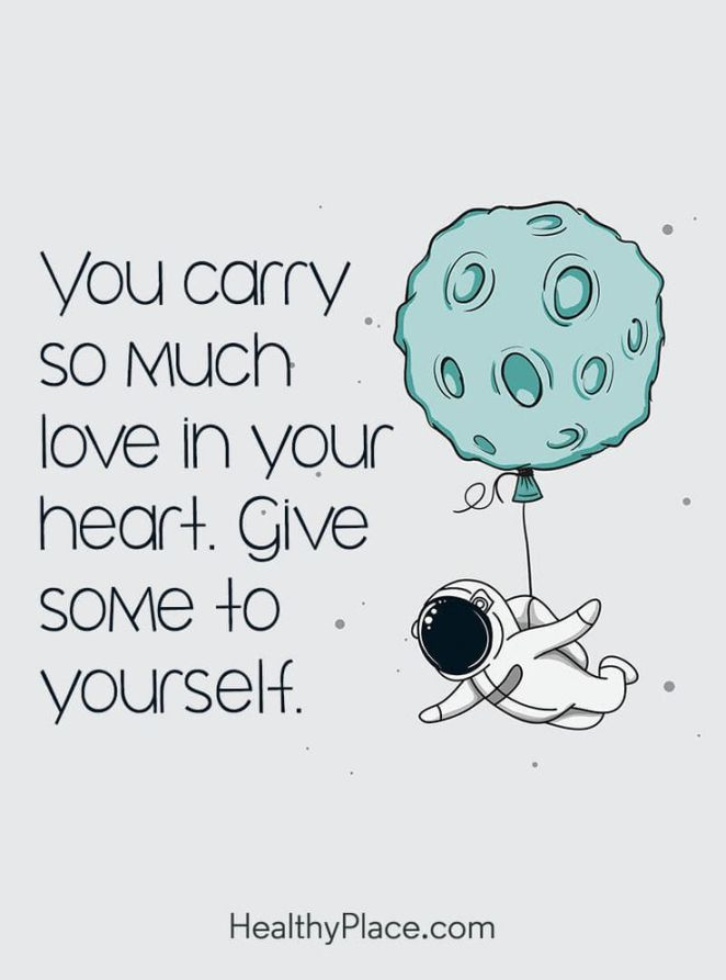 Quote about self-confidence - You carry so much love in ...
