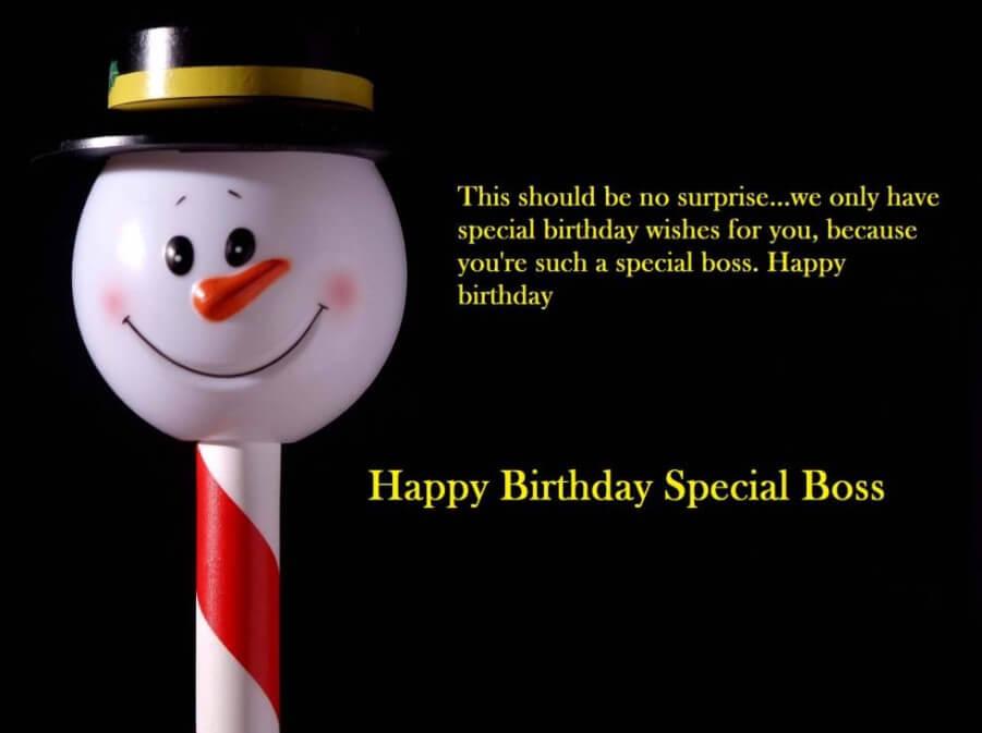 Christmas Message To Boss
