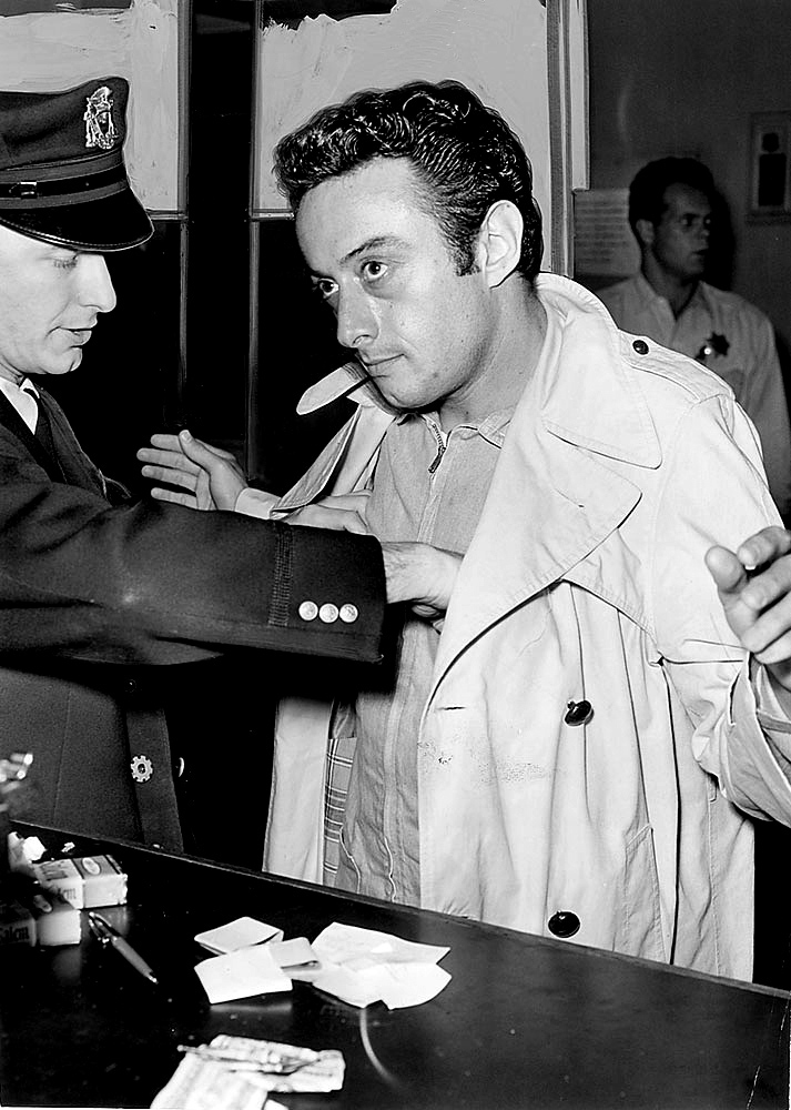 Lenny Bruce arrested